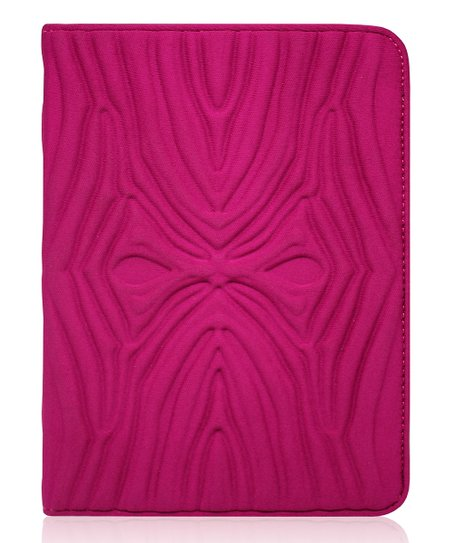 Boysenberry Zebra Portfolio Case for Kindle Fire 2