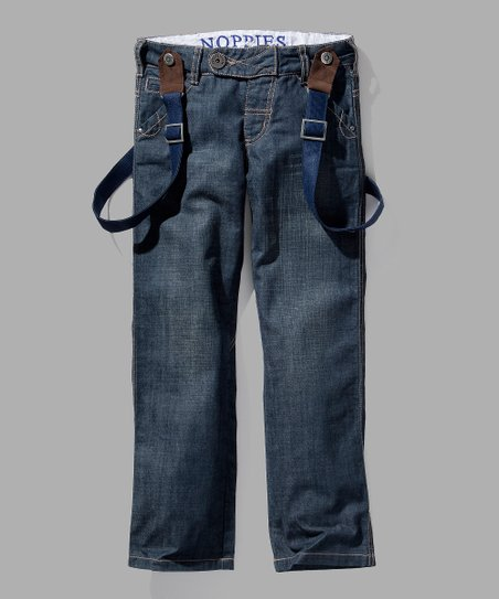 Light Wash Arthur Jeans &amp; Suspenders - Toddler &amp; Boys