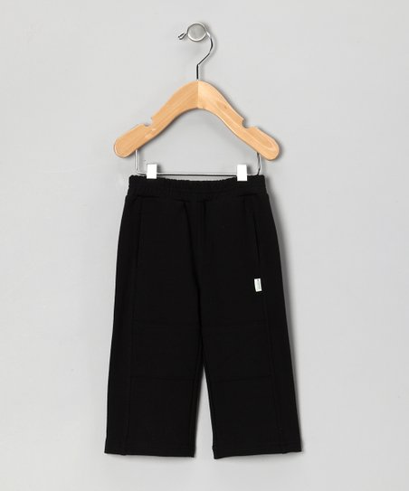 Black French Terry Pants - Infant & Toddler