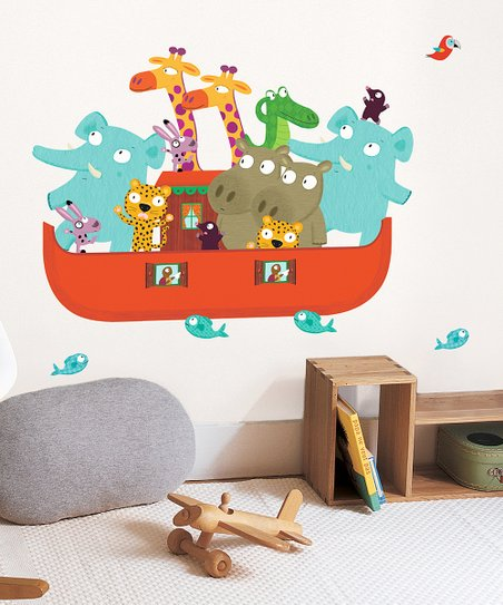 Noah's Ark Wall Decal Set