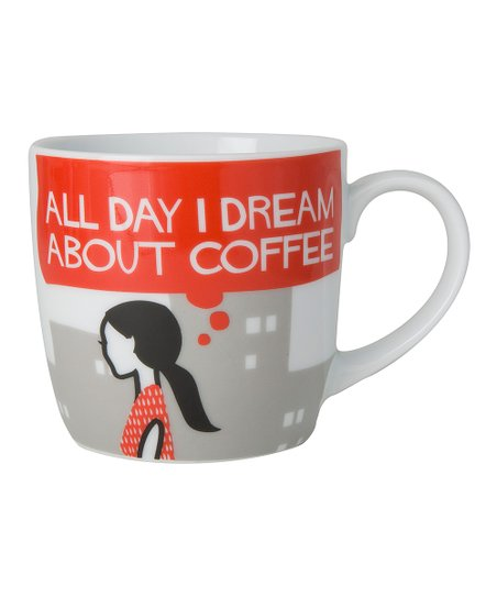 Red Her Coffee Dream Mug