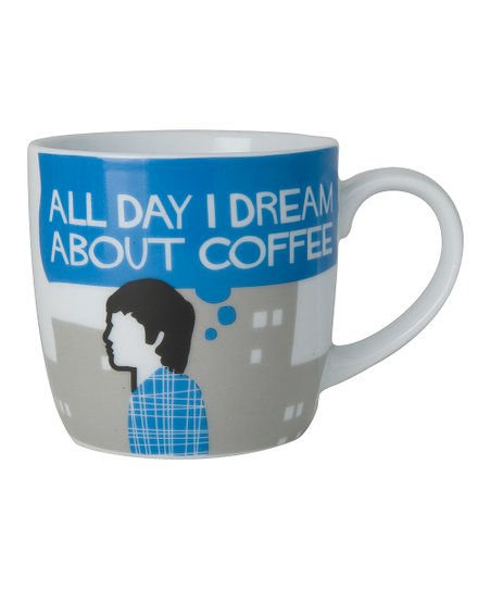 Blue His Coffee Dream Mug