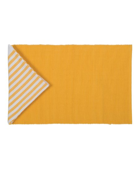Sunflower Deck Stripe Placemat & Napkin Set