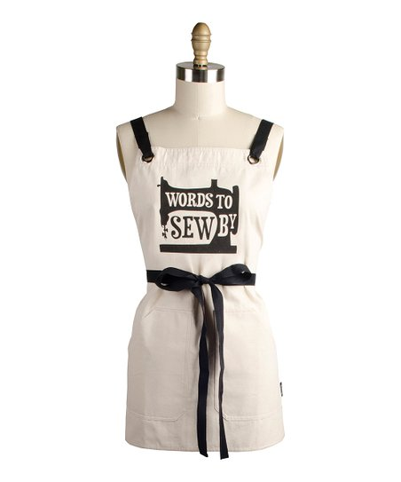 'Words to Sew By' Apron - Women
