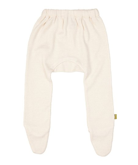 Natural Merino-Silk Blend Organic Footie Pants - Infant & Toddler