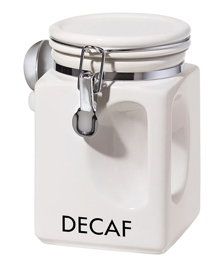 'Decaf' EZ-Grip Canister & Spoon