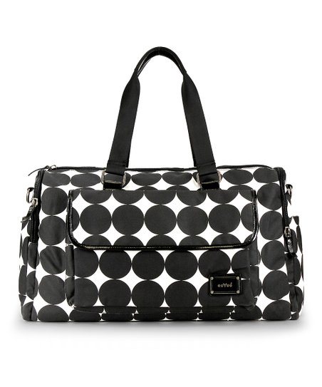Black Dots Labor of Love Large Duffel Bag