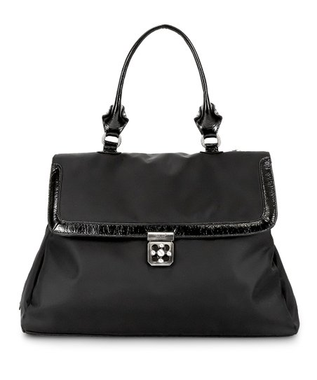 Black Noir Brooke Diaper Satchel