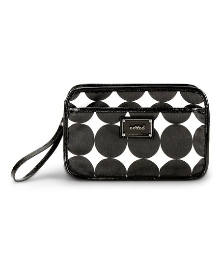 Black Dots Bella Crossbody Diaper Bag