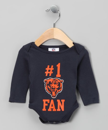 Chicago Bears '#1 Fan' Bodysuit - Infant