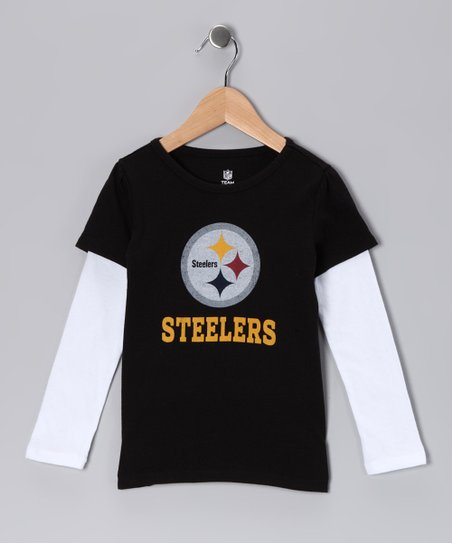 Pittsburgh Steelers Layered Tee - Infant & Toddler