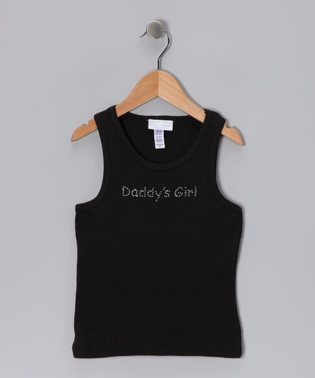 Black 'Daddy's Girl' Tank - Infant & Toddler