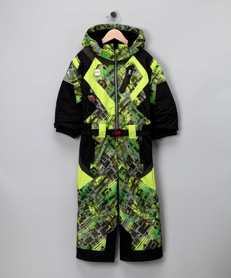 Green Go Cart Speed Snowsuit - Infant