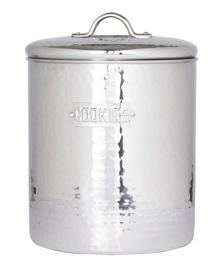 Hammered Fresh Seal Cover 4-Qt. Cookie Jar