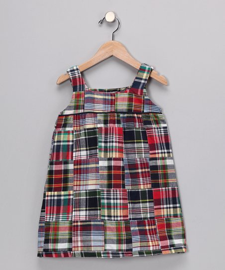 Madras Plaid Babydoll Dress - Infant, Toddler & Girls