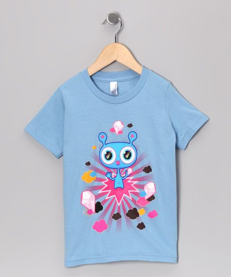 Olly Oogleberry Baby Blue Crystal Kingdom Tee - Boys