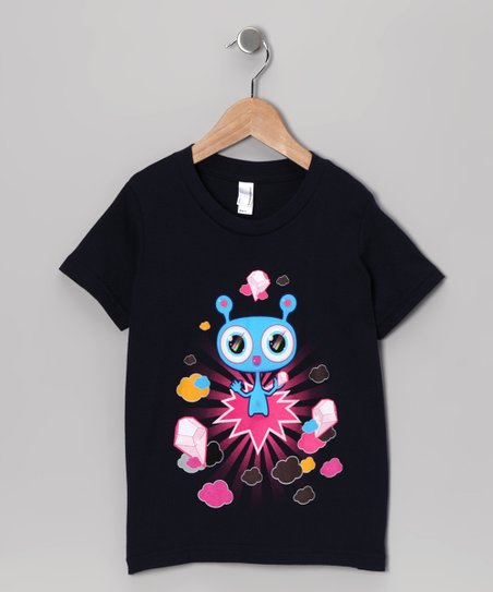 Olly Oogleberry Navy Crystal Kingdom Tee - Boys