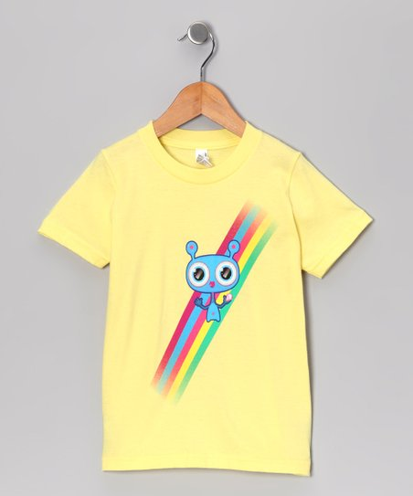 Olly Oogleberry Lemon Rainbow Tee - Kids