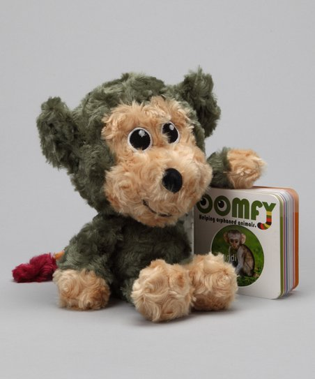 Thandi Monkey Plush Toy &amp; Board Book