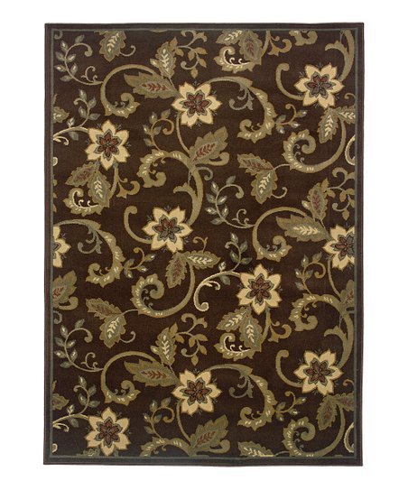 Brown Elizabeth Rug