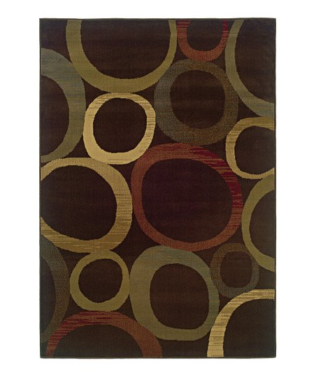 Brown River Rocks Tyree Rug