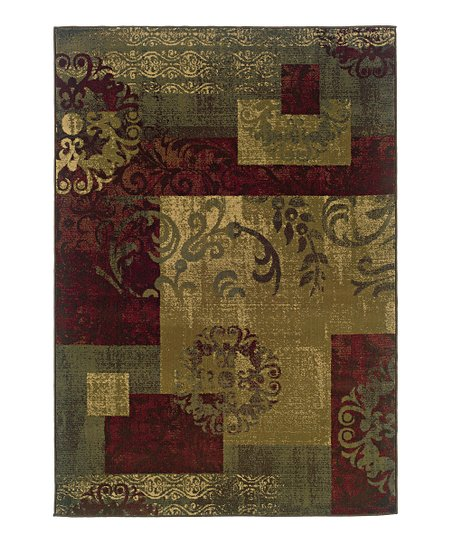 Green Parisian Tyree Rug