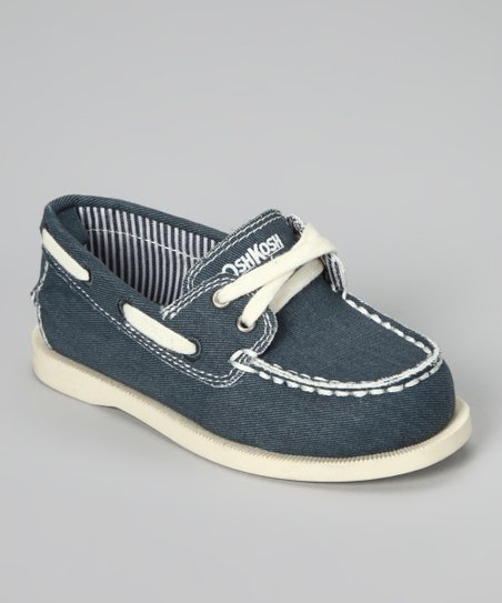 Navy Alex Boat Shoe