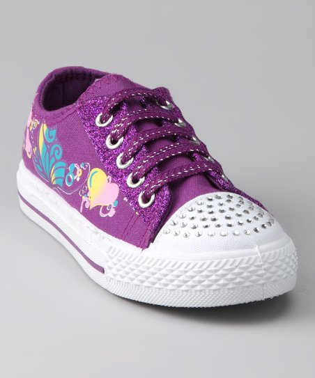 Purple Princess Sneaker