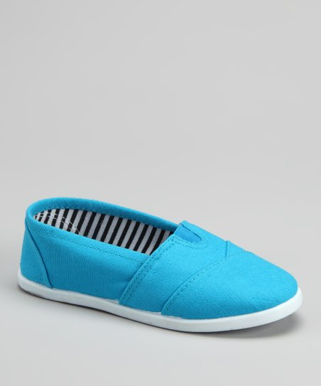 Turquoise Tammy Slip-On Shoe