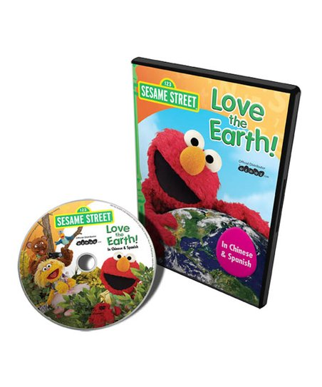 Chinese & Spanish Love the Earth DVD