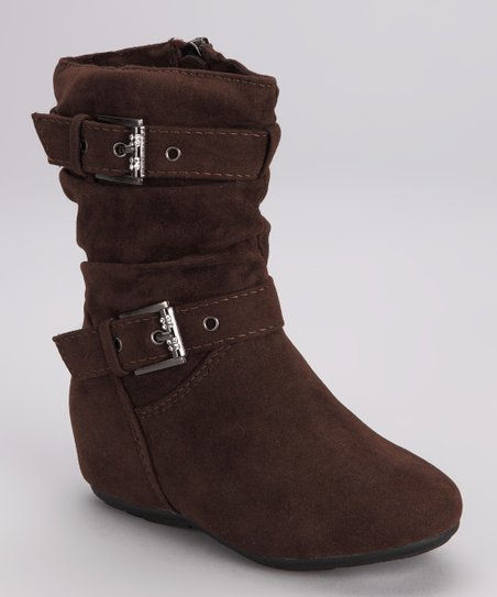 Brown Zip-Up Gloria Boot