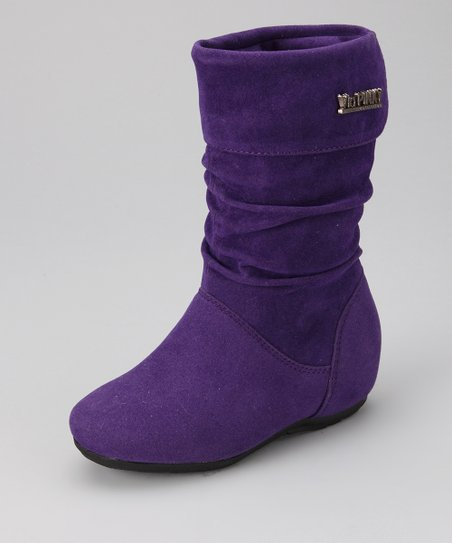 Purple Zip-Up Missouri Boot