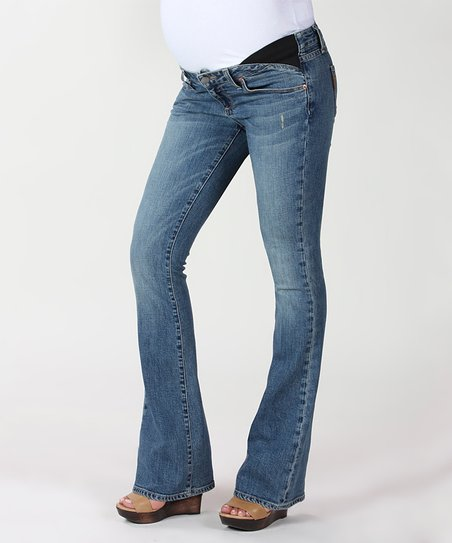 Playa Laurel Canyon Under-Belly Maternity Bootcut Jeans