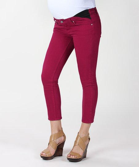 Bonita Kylie Under-Belly Maternity Cropped Jeans