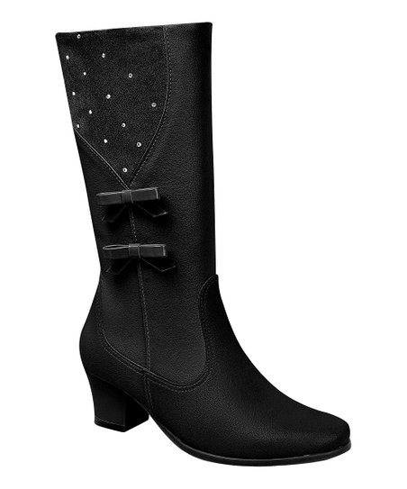 Pampili Black Bow Boot