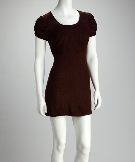 Chocolate Sweater Dress