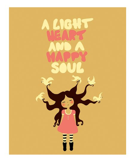 &#039;Happy Soul&#039; Print