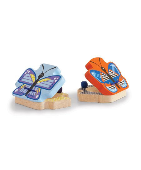 Butterfly Clickity Clack Castanet - Set of Two