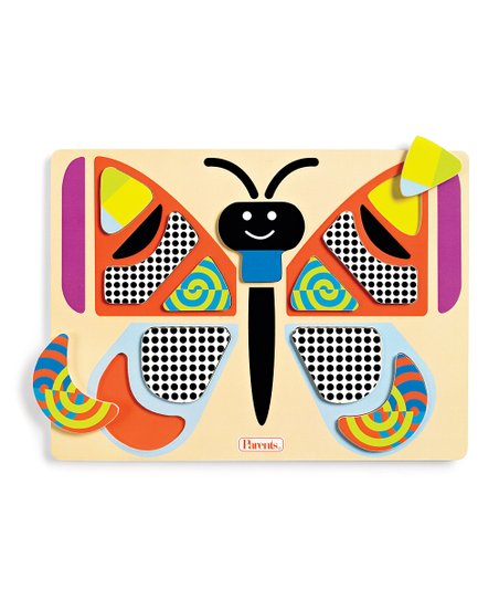 Bright Shapes Butterfly Puzzle
