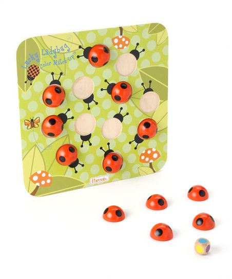 Lucky Ladybug Color Match-Up Game