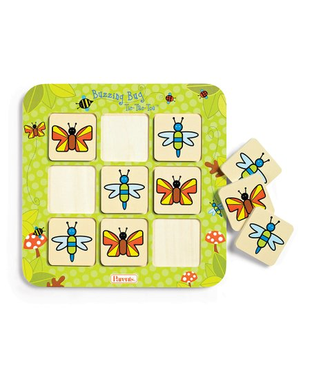 Buzzing Bug Tic-Tac-Toe Game