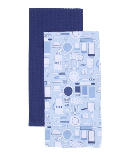 Kitschy Utensil Dish Towel Set