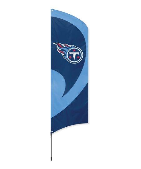 Tennessee Titans Large Team Flag & Pole