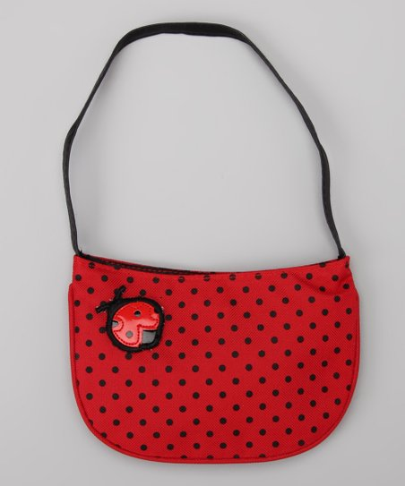 Red Polka Dot Lady Bug Purse