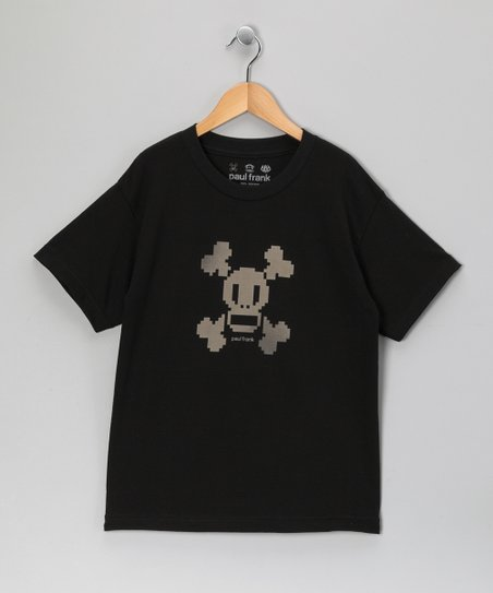 Black Skull & Crossbones Short-Sleeve Tee