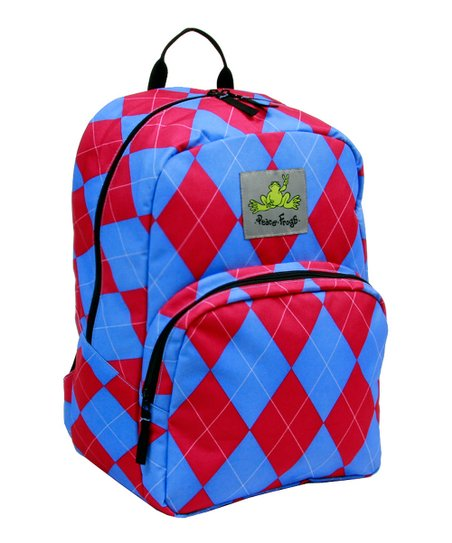 Berry Argyle Recycled Day Trippin' Backpack