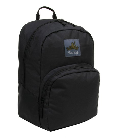 Black Recycled Day Trippin' Backpack