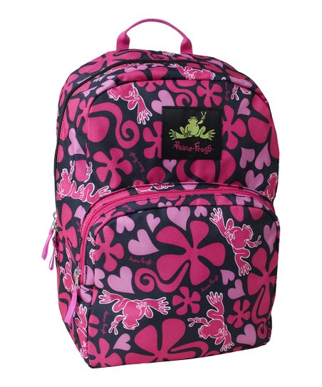 Pink Lava Frog Day Trippin' Backpack
