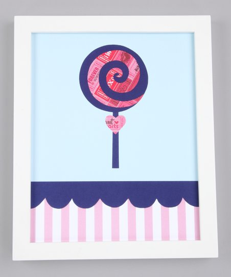 Lollipop Delight Print