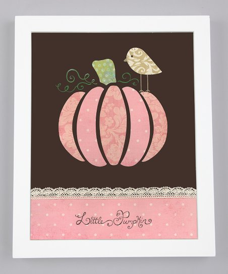'Little Pumpkin' Print